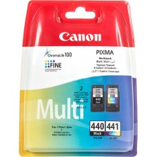 Скупка картриджей BLACKTRADE.RU - Продать PG-440 + CL-441 / 5219B005 Canon набор струйных картриджей для Canon PIXMA MG2140/ 2240/ MG3140/ 3240/ MG4140/ MX374/ MX474