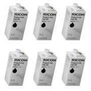 Скупка картриджей BLACKTRADE.RU - Продать HQ 90 [817161] Чернила для дупликатора тип HQ90 чёрные (CS) (упаковка 6шт) для Ricoh Priport HQ7000/9000/DD6650P (6х1000мл)