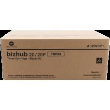 Скупка картриджей BLACKTRADE.RU - Продать A32W021 Тонер TNP-24 Konica-Minolta для bizhub 20/20P  (8 000 стр.)