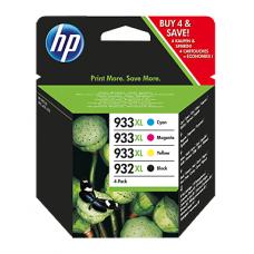Скупка картриджей BLACKTRADE.RU - C2P42AE HP Набор картриджей (черный 932XL и 3 цветных 933XL голубой, пурпурный, желтый) для HP OJ 6100 / 6600 / 6700 / 7610 Wide Format