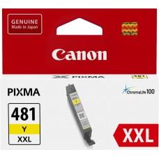 Скупка картриджей BLACKTRADE.RU - Продать CLI-481XXL Y [1992C001] Картридж Canon желтый для Canon Pixma TR7540/ TR8540/ TS6140/ TS8140/ TS9140