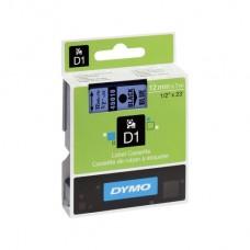 Скупка картриджей BLACKTRADE.RU - Продать S0720560 DYMO Картридж с пластиковой голубой лентой шрифт черный для DYMO Label Manager 210D/ 280/PnP/ 420P/ 500TS (7 м/12 мм)