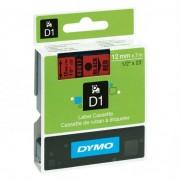 Скупка картриджей BLACKTRADE.RU - Продать S0720570 DYMO Картридж с пластиковой красной лентой шрифт черный для DYMO Label Manager 210D/ 280/PnP/ 420P/ 500TS (7 м/12 мм)