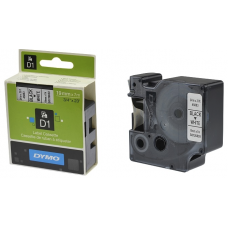 Скупка картриджей BLACKTRADE.RU - Продать S0720830 DYMO Картридж с пластиковой белой лентой D1 шрифт черный для DYMO Label Manager 210D/ 280/PnP/ 420P/ 500TS (7 м/19 мм)