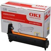 Скупка картриджей BLACKTRADE.RU - Продать 43870021 Фотобарабан OKI EP-CART-Y-C5850/ C5950/ МС560