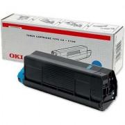 Скупка картриджей BLACKTRADE.RU - Продать 42127490/42127407 Тонер-картридж голубой  для OKI C5100 / C5200 / C5300 / C5400 (5000 стр)