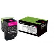 Скупка картриджей BLACKTRADE.RU - Продать 70C8HM0 Картридж Lexmark CS310/410/510 (3000 стр.) Малиновый