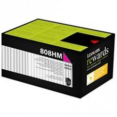 Скупка картриджей BLACKTRADE.RU - Продать 80C8HM0 Lexmark тонер картридж Return Program малиноый для CS310/410/510 (3000 стр.)