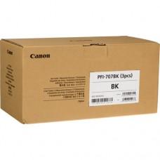 Скупка картриджей BLACKTRADE.RU - Продать PFI-707BK [9821B003] Набор картриджей CANON Black для iPF 830/840/850 700ml (3шт)