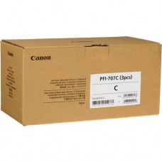 Скупка картриджей BLACKTRADE.RU - Продать PFI-707C [9822B003] Набор картриджей CANON Cyan для iPF 830/840/850 700ml (3шт)