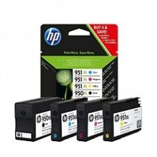 Скупка картриджей BLACKTRADE.RU - C2P43AE Набор картриджей 950XL + 3 цветных 951XL (черный, голубой, пурпурный, желтый) для HP OJ Pro 8100, 8600, 8610, 8620, 276dw, 251dw