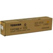 Скупка картриджей BLACKTRADE.RU - Продать T-FC35EY Тонер желтый для Toshiba e-STUDIO2500C/3500C/3510C (21000к.) (6AJ00000053)