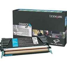 Скупка картриджей BLACKTRADE.RU - Продать C5340CX Lexmark тонер картридж синий повышенного объема для C534 (7000 стр.)