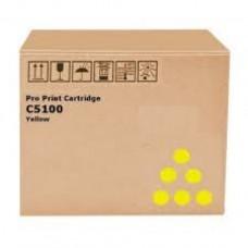 Скупка картриджей BLACKTRADE.RU - Продать Type-C5100 [828403] Картридж Ricoh желтый для Ricoh Pro C5100S/C5110S (30000стр.)