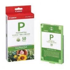 Скупка картриджей BLACKTRADE.RU - Продать E-P50 [1247B001] Набор: Картридж + бумага для Canon Selphy ES 1 (100*148) 50 листов