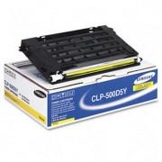Скупка картриджей BLACKTRADE.RU - Продать CLP-500D5Y Картридж Samsung к цветным принтерам Samsung CLP-500/ 500N/ 550/ 550N